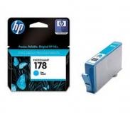 Оригинальный картридж HP CB318HE голубой картридж №178
