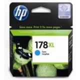 Оригинальный картридж HP CB323HE голубой картридж №178XL