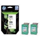 Оригинальный картридж HP CB332HE (Сдвоенная упаковка трёхцв. картр.№135)