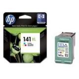 Оригинальный картридж HP CB338HE трёхцветный картридж №141XL
