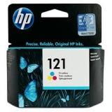 Оригинальный картридж HP CC643HE трёхцветный картридж №121