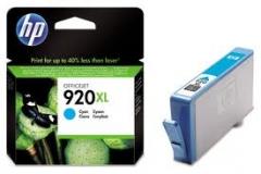 Оригинальный картридж HP CD972AE голубой картридж №920XL