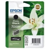 Оригинальный картридж Epson T0591 черный картридж C13T05914010