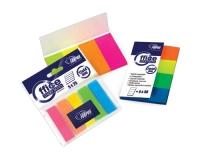 Самоклеющиеся индексы, 20х50мм, 4 цвета, бумажные, 160 листков