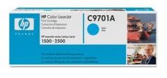Оригинальный картридж HP C9701A голубой картридж
