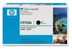 Оригинальный картридж HP C9720A чёрный картридж