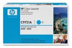Оригинальный картридж HP C9721A голубой картридж