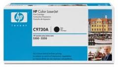 Оригинальный картридж HP C9730A чёрный картридж