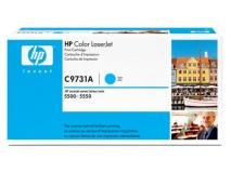 Оригинальный картридж HP C9731A голубой картридж