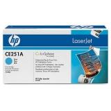 Оригинальный картридж HP CE251A голубой картридж