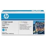 Оригинальный картридж HP CE261A голубой картридж