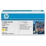 Оригинальный картридж HP  CE262A жёлтый картридж