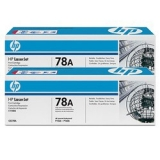 Оригинальный картридж HP CE278AF (Сдвоенная упаковка чёрных картр. CE278A)