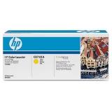 Оригинальный картридж HP CE742A жёлтый картридж