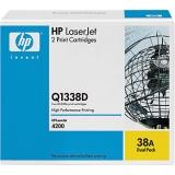 Оригинальный картридж HP Q1338D (Сдвоенная упаковка чёрных картр. Q1338A)