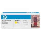 Оригинальный картридж HP Q3962A жёлтый картридж