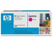 Оригинальный картридж HP Q6003A пурпурный картридж