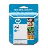 Оригинальный картридж HP 51644CE голубой картридж №44