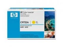 Оригинальный картридж HP  C9722A жёлтый