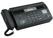 Факс Panasonic KX-FT982RUB СТБ черный, гарантия 24мес