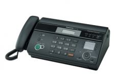Факс Panasonic KX-FT988RUB СТБ, черный, гарантия 24мес