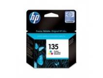 Оригинальный картридж HP  C8766HE трёхцветный картридж №135