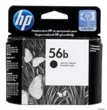 Оригинальный картридж HP  C6656BE простой чёрный картридж №56b
